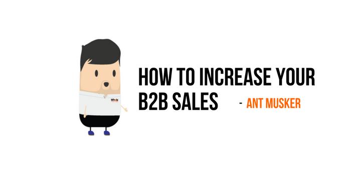b2b sales