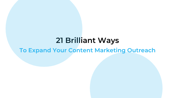 content marketing outreach
