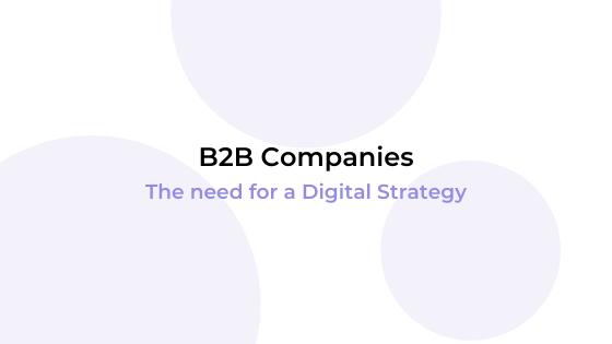 b2b digital strategy